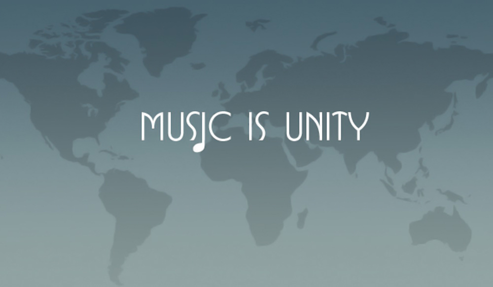 MUSIC IS UNITY
